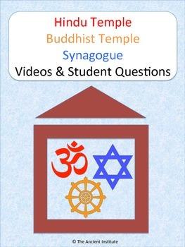 Hindu Temple, Buddhist Temple, & Synagogue Bundle: Videos