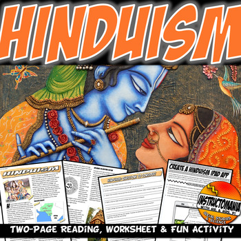 Hinduism Ancient India Common Core Writing,Literacy and Ex