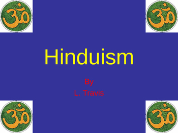Hinduism: festivals, rituals, and more PPT
