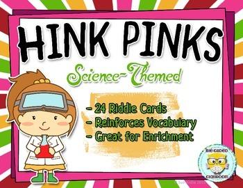 Hink Pinks Riddles