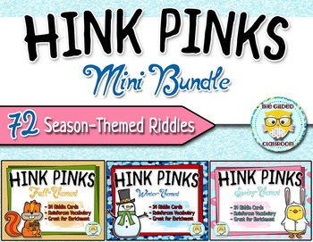 Hink Pink Riddles Set