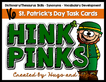 Hink Pinks - St. Patrick's Day