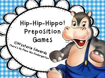 Hip-Hip-Hippo! Preposition Games