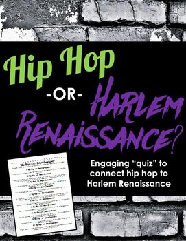 Hip Hop or Harlem Renaissance: Fun Quiz to Connect Hip Hop