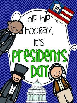Hip hip Hooray it's {Presidents Day!}