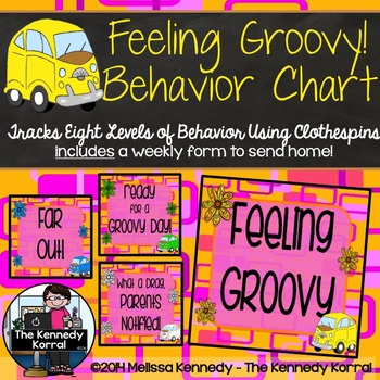 Behavior Chart: Feeling Groovy {Hippie}