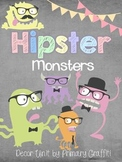 Hipster Monster Decor