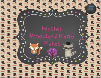 Hipster Nameplates