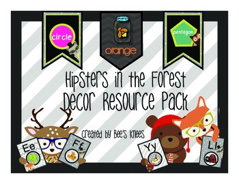 Hipsters in the Forest - Decor Resource Pack by Bee's Knees