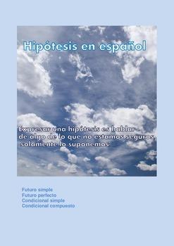 Hipótesis en español/Hypothesis in spanish /Hipotesis en espanol