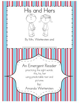 His and Her Emergent Reader