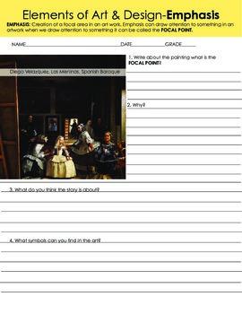 Hispanic Art History & Art Elements-Emphasis