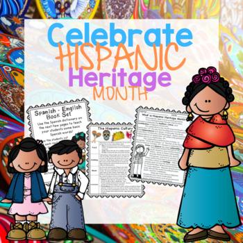 Hispanic Heritage Month - Celebrate Diversity!  Close Read