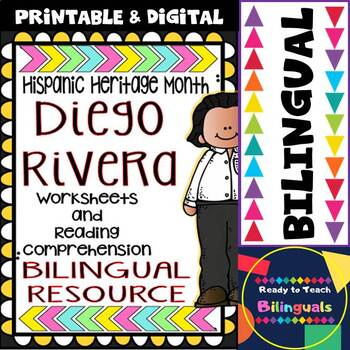 Hispanic Heritage Month - Diego Rivera - Worksheets and Re