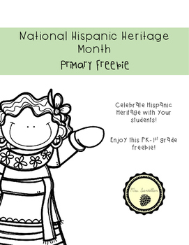 Hispanic Heritage Month- Free Primary Activity