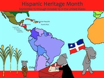 Hispanic Heritage Month:  Independence History with Pepper