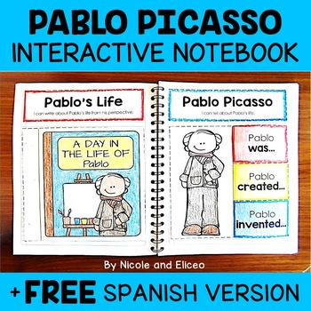 Pablo Picasso Activities Interactive Notebook