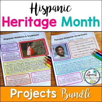 Hispanic Heritage Month Projects Bundle