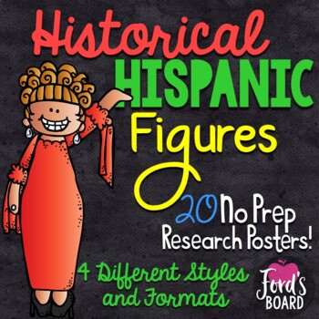 Hispanic Heritage Month Research Posters