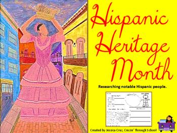 Hispanic Heritage: Researching Notable Hispanic People
