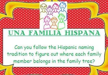 Hispanic Lineage Activity / Problem-Solving