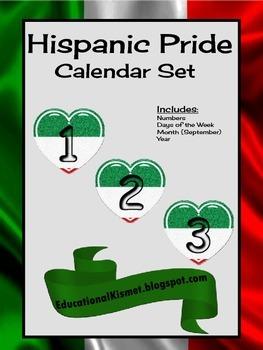 'Hispanic Pride' Calendar Set