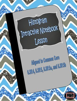 Histograms Interactive Lesson {6.SP.4, 6.SP.5, 6.SP.5a, 6.SP.5b}