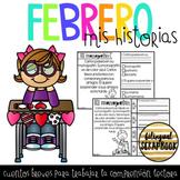 Historias de Comprension (Febrero) - February Comprehensio