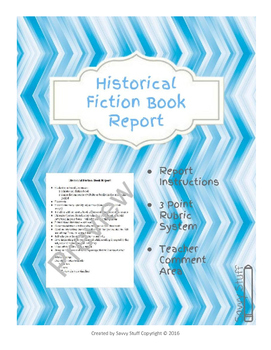 Historical Book Report