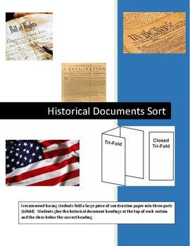 Historical Documents Sort