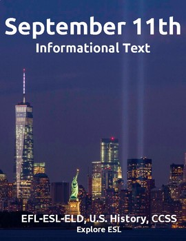 Historical Events: September 11th-Informational Text-ESL-C