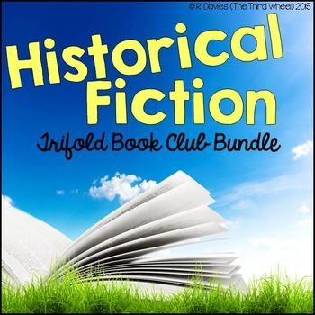 No Prep Foldable Novel Study Units - Historical Fiction Bundle
