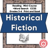 Historical Fiction Book Study AND Book Report