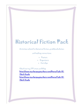 Historical Fiction Pack