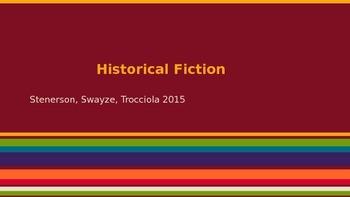 Historical Fiction Reading Unit