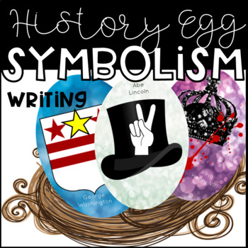 Historical Figure Egg : A fun writing and coloring activit