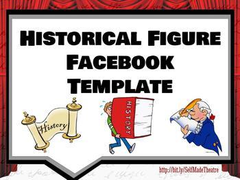 Historical Figure Facebook Powerpoint / Google Slide Template