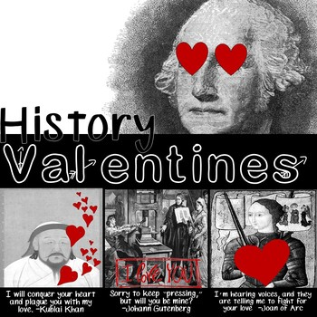 Historical Figure Valentine's Day Activity