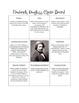 Historical Figures Choice Board - Frederick Douglass