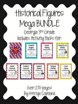 Historical Figures Mega BUNDLE (Georgia 3rd Grade)