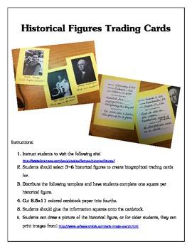 Historical Figures Trading Cards - Interactive Tech Idea