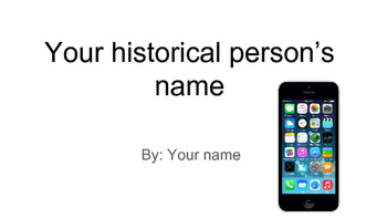 Historical Phone Project