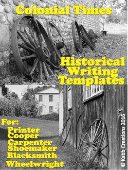 Historical Writing Final Copy Templates, Colonial Trades,