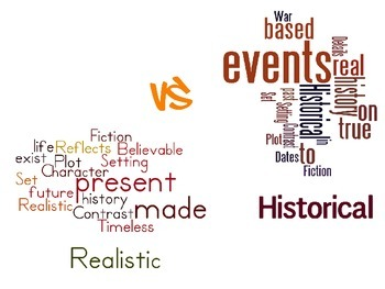 Historical vs. Realistic Fiction Poster