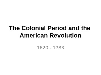 Social Studies - American History for Kids
