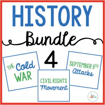 History Bundle 4: Cold War, Civil Rights Movement, Septemb