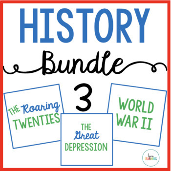 History Bundle 3 {The Roaring Twenties, The Great Depressi