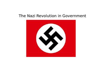 History: Hitler in power
