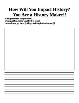 History Maker Template