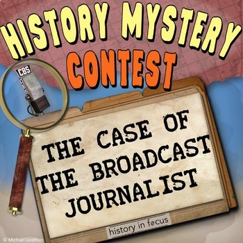 History Mystery - Edward R. Murrow